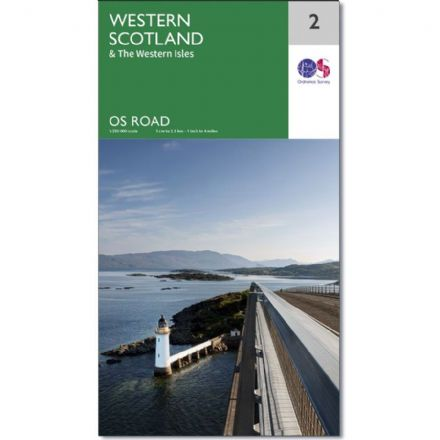 Ordnance Survey Road Map 2 - Western Scotland